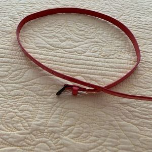 Accessories - Size 6 Coral Pink Belt